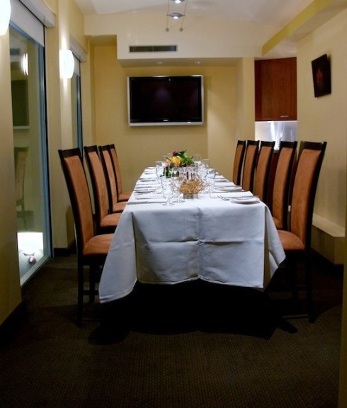 Pangaea Upstairs Dining Room