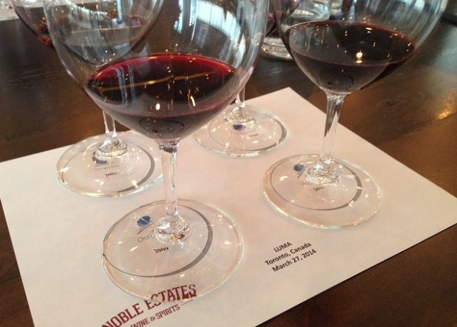 Opus One Tasting at Luma Restaurant Photo: Eric Vellend