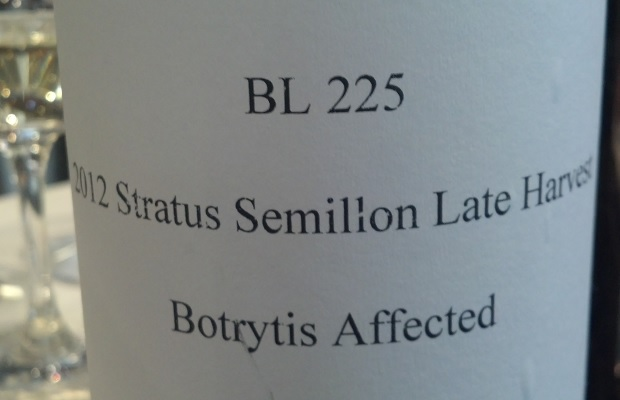 Botrytis Affected Sémillon Late Harvest 2012