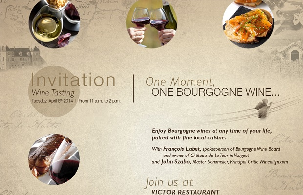 One Moment, One Bourgogne Wine... www.bourgogne-wines.com