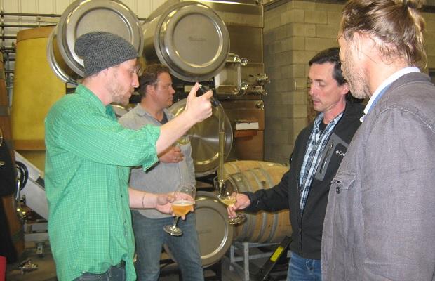 Chardonnay from barrel with Ryan Corrigan, Jonas Newman, Francois Morissette and John Szabo