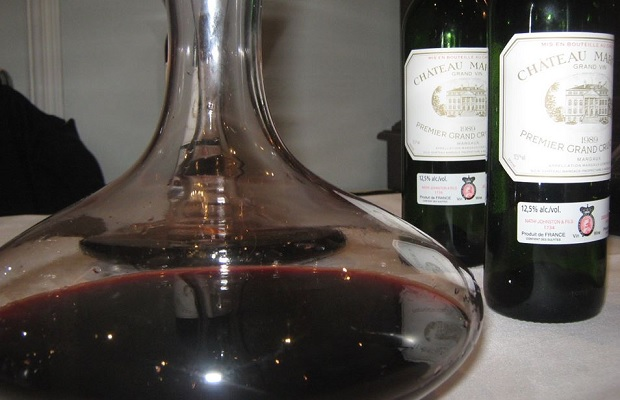 Decanted Château Margaux 1989, The National Club, Toronto, May 1, 2014 PHOTO: Michael Godel