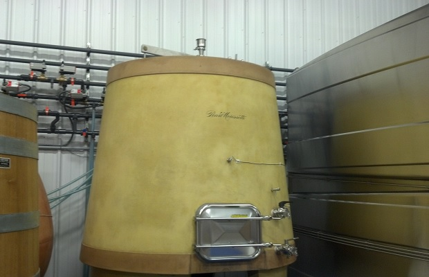 Conrete Egg Fermenter
