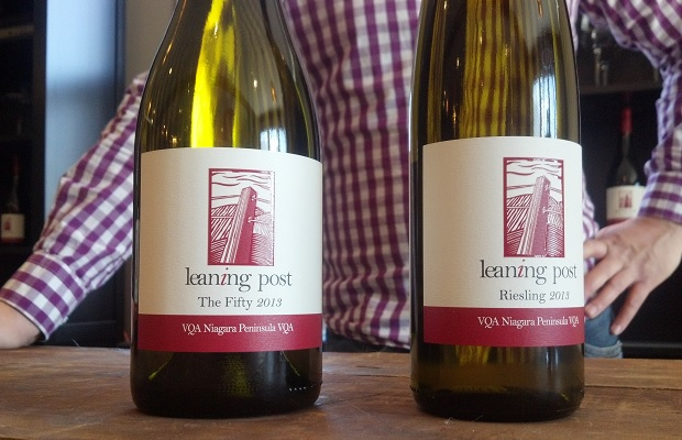 Leaning Post 'The Fifty' Chardonnay 2013 and Riesling 2013