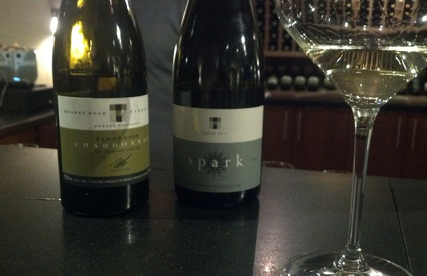 Tawse Spark Blend 2011 and Quarry Road Chardonnay 2008