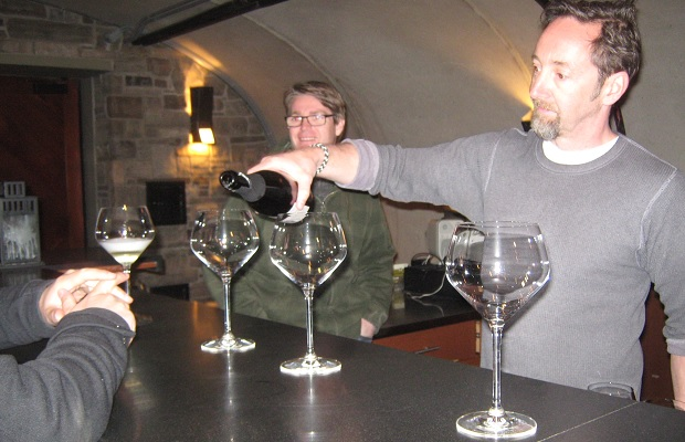 Tawse winemakers Rene Van Ede and Paul Pender