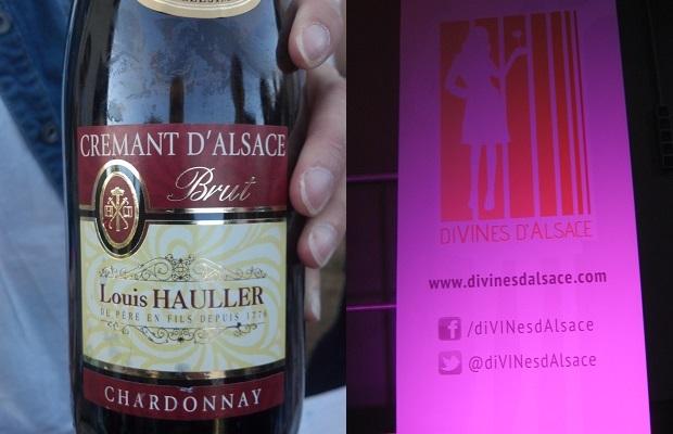 Louis Haller Brut Crémant D'Alsace / @diVINeSDaLSACE