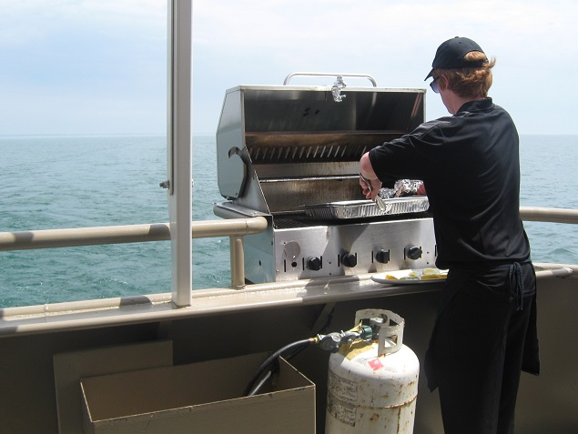 Outboard BBQ