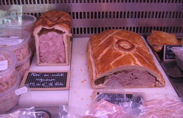 Pâté en Croûte, Niedermorschwihr, Alsace, France PHOTO: Michael Godel