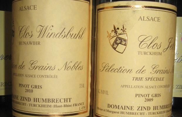 Pinot Gris Clos Jebsal Sélection de Grains Nobles Trie Spéciale 2009