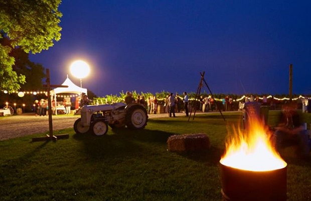 Barrels and Bonfires at 13th Street Winery, Photo (c) Steven Elphick & Associates