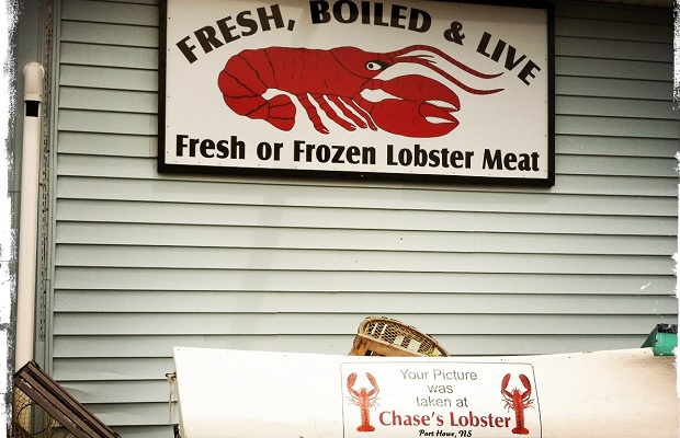 Chase Lobsters, Port Howe, NS