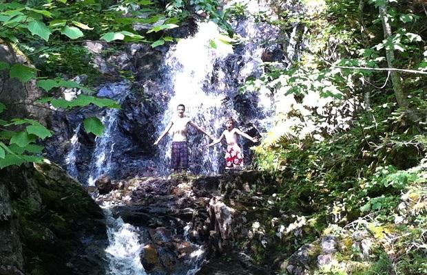 Corneybrook Falls, Cape Breton Island
