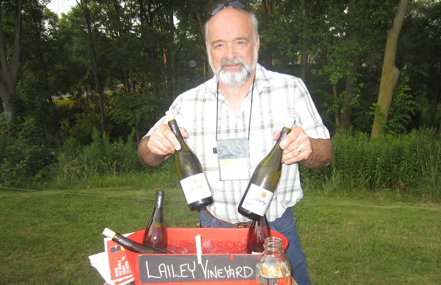 Derek Barnett, Lailey Vineyard at 13th Street Winery