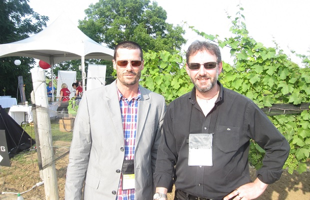 Godello and Jeremy Dineen of Josef Chromy Wines