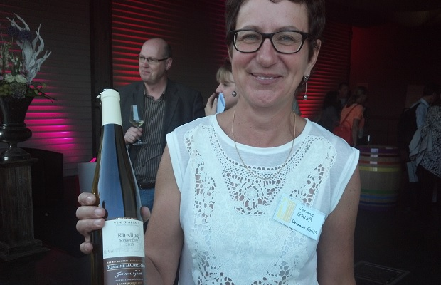 Josiane Griss with Riesling Sonnenberg 2010