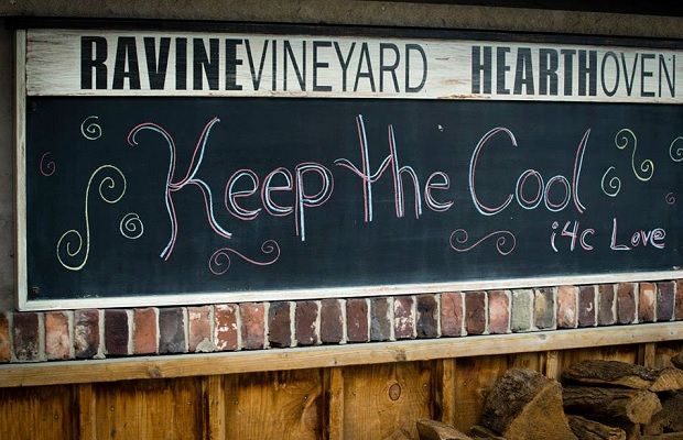 keep the cool i4c love!, Photo (c) Sherry Galey Photography — at Ravine Vineyard Estate Winery.
