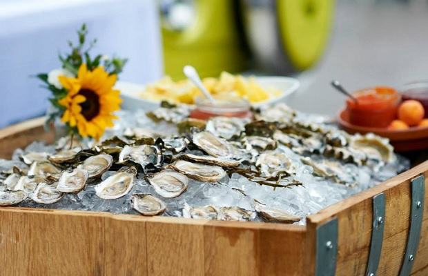 Katrina Steeves and Mike Langley, Tide and Vine Oyster Company Photo (c) Steven Elphick & Associates