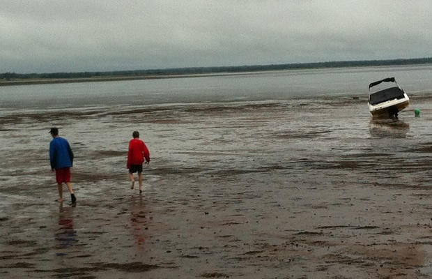 Tide out, Big Cove, Northumberland Strait