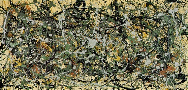 Number 8, 1949 by Jackson Pollock www.jackson-pollock.org