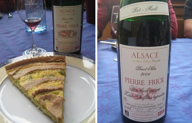 Pierre Frick Pinot Noir 2008 and 2009
