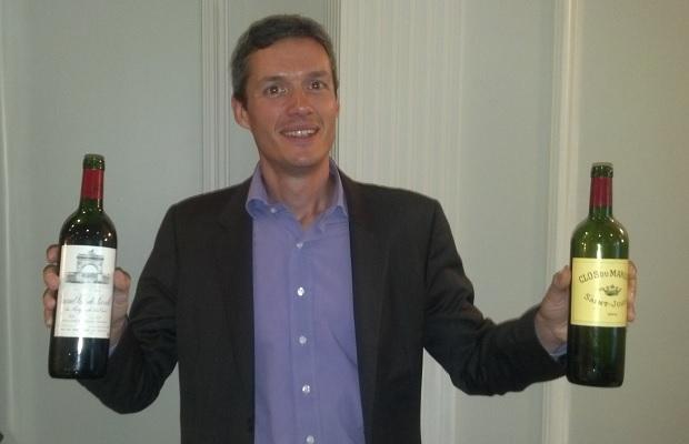 Pierre Graffeuille, Commercial Export Director, Domaines Delon
