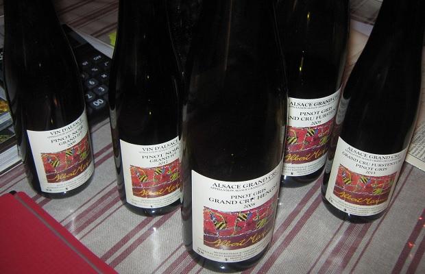 Pinot Noir (and Pinot Gris) of Domaine Albert Mann