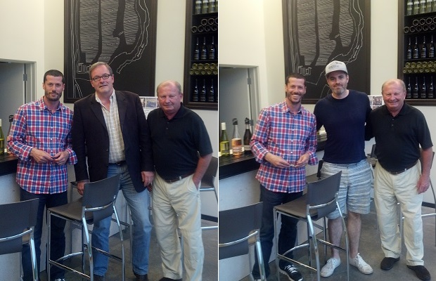 Godello, Winemaker Jean-Benoit Deslauriers and Proprietor Gerry McConnell