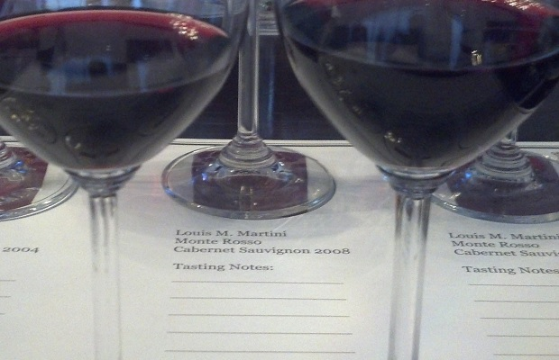 Louis M. Martini Tasting at The Vintage Conservatory