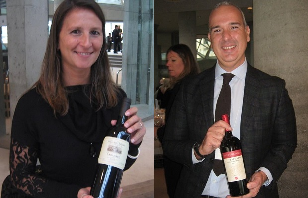 Linda Siddera of Casale Del Giglio and Francesco Ferreri of Valle Dell'Acate