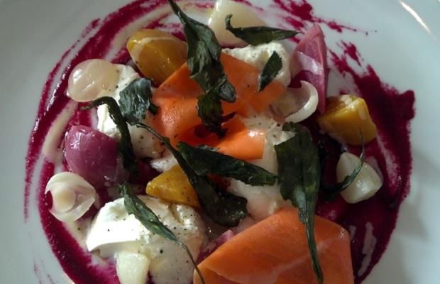 Luma's Bocconcini and Preserved Vegetable Salad