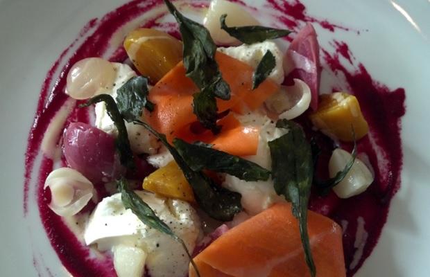 Luma's Bocconcini and Preserved Vegetable Salad