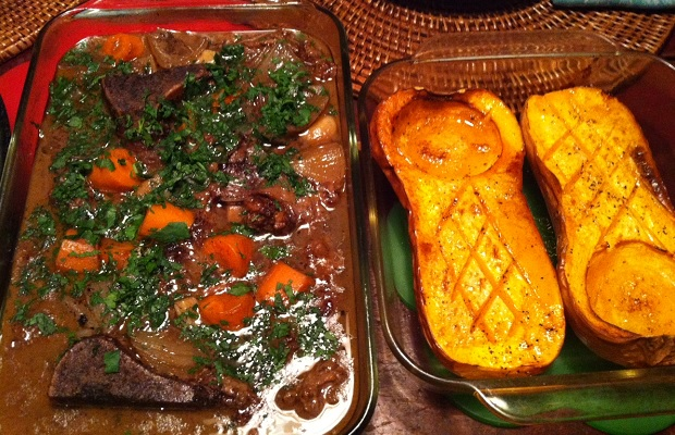 Mid-November comfort food @MeatMeFoods ossein release beef stew and @WaniganFoods organic butternut squash