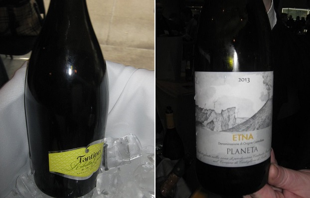 Fantinel Ribolla Gialla Brut NV and Planeta Etna 2013