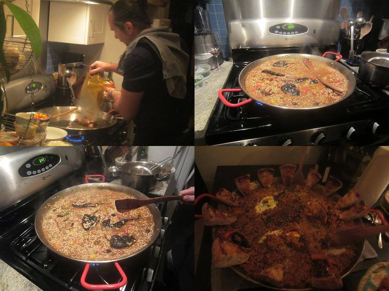 Chef Michael Pataran's Paella