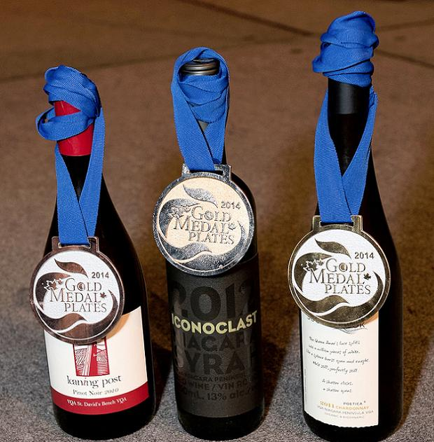 Gold Medal Plates wines (c) Ronald Ng Photography