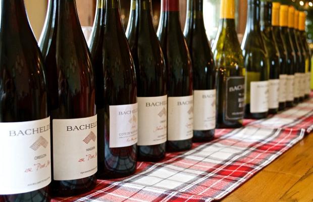 Bachelder Wines tasting. December 28, 2014 Photo: (Elene Galey-Pride, www.winestains.ca)