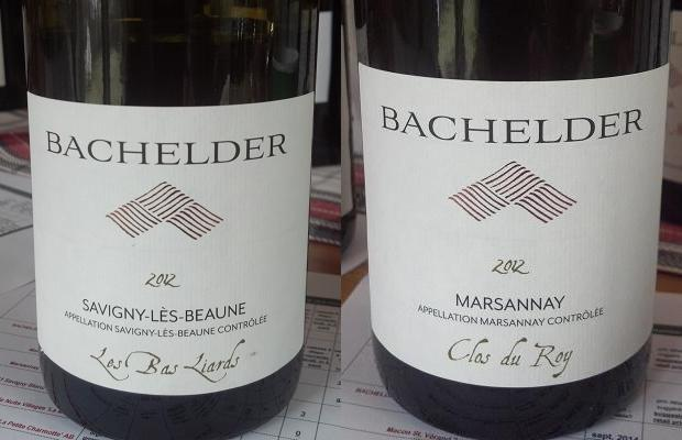 Savigny Lès Beaune Les Bas Liards 2012 and Marsannay Clos du Roy 2012