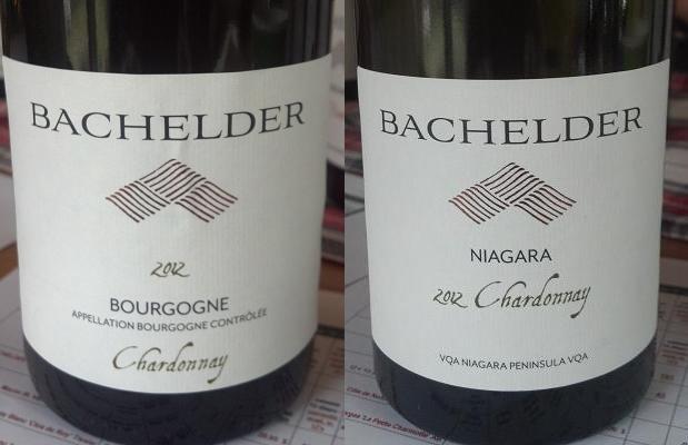 Bourgogne Chardonnay 2012 and Niagara Chardonnay 2012