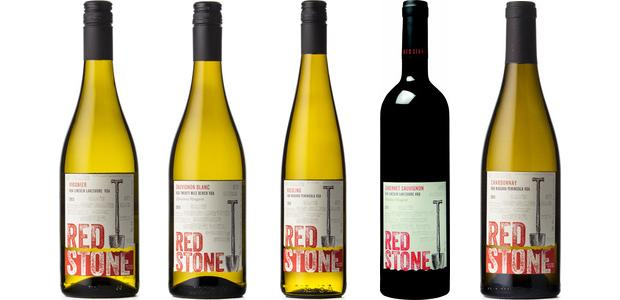 Redstone Winery Viognier 2013, Limestone Vineyard Sauvignon Blanc 2013, Riesling 2013, Cabernet Sauvignon 2011 and Chardonnay 2012