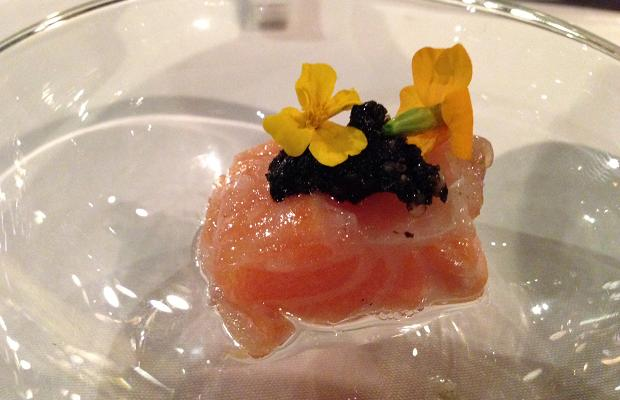 Salmon Amuse Bouche