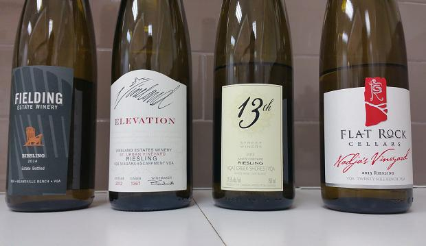 Niagara Riesling Royalty at the LCBO Lab - March 6, 2015