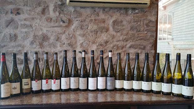 Riesling at the Carriage House, Vineland Estates Winery - March 7, 2015