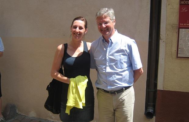 Anne et Jean Trimbach, Maison Trimbach
