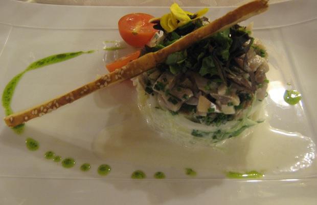 Fish Tartare, Le Sarment d'Or, Riquewihr