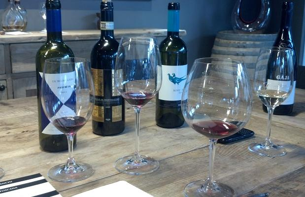 Gaia Tasting at Stem Wine Group