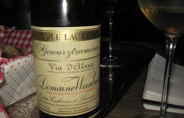 Domaine Weinbach Gewürztraminer Cuvée Laurence 2011