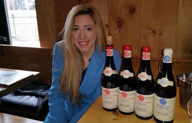 Chiara and wines