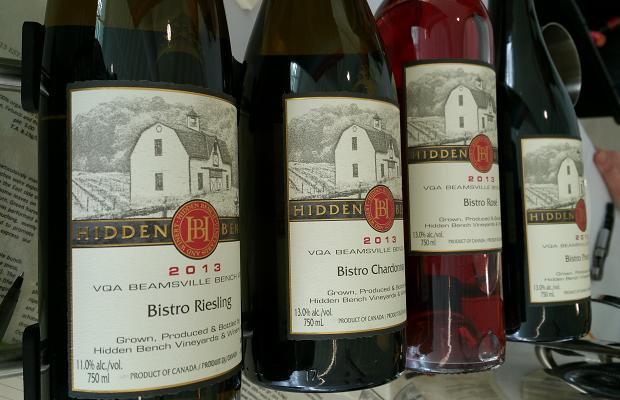 The wines of Hidden Bench