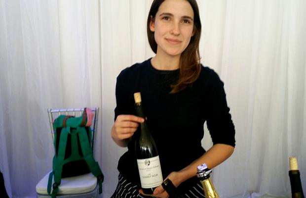 Maggie Granger with The Grange of Prince Edward County Gamay Select 2009